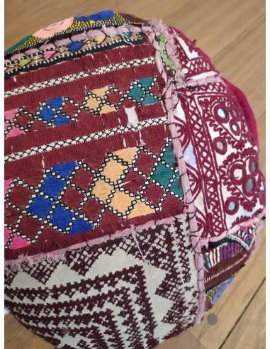 Almohadón patchwork Origen: India