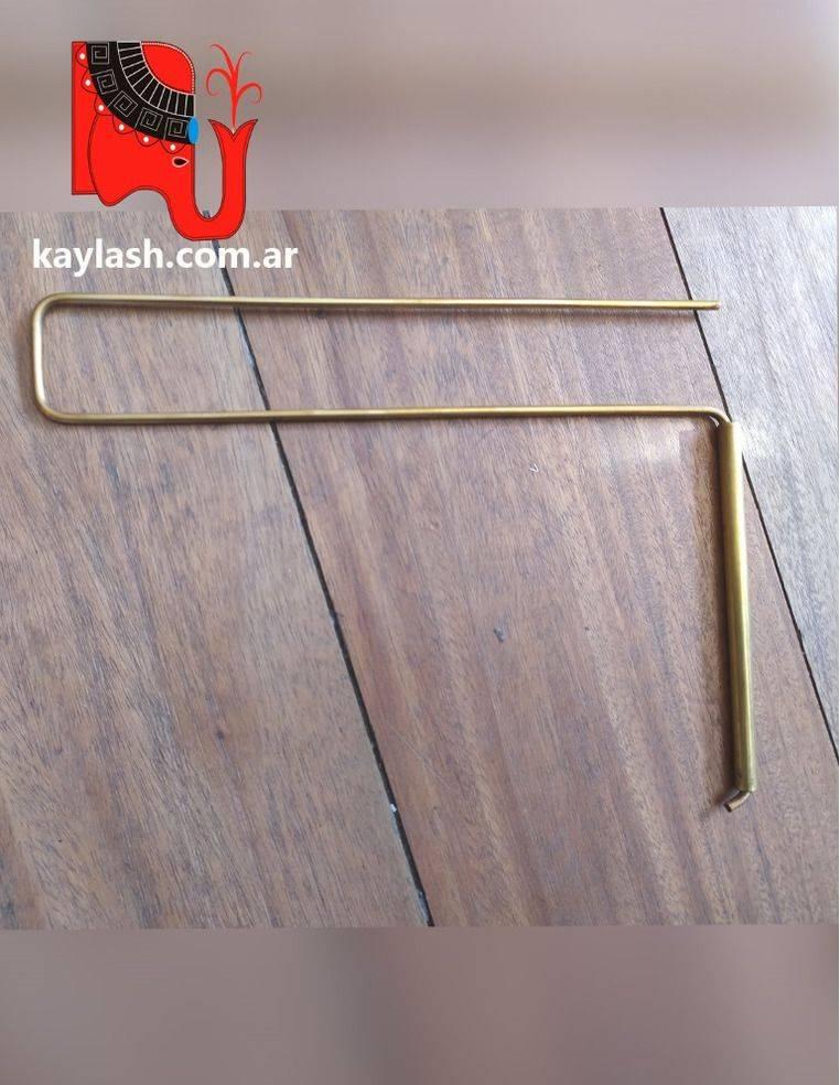 Varillas de Harman de bronce Para medir líneas en la tierra y bloqueos - Radiestesia -