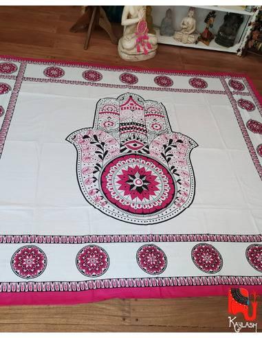 Manta de 2 plazas, Medida 220x240cm Origen: India