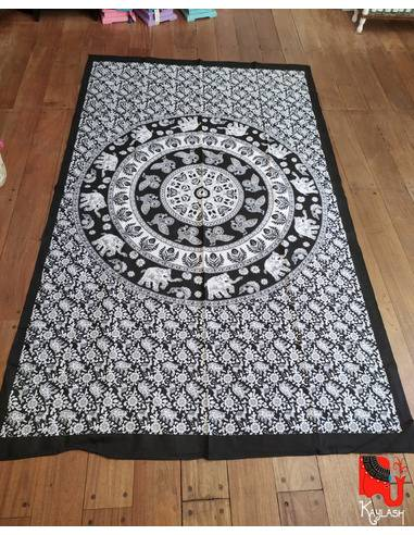 Manta, tapiz o mantel,1 plaza Origen: India