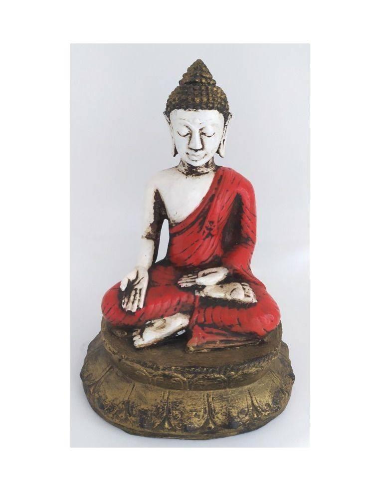 Buda resina sobre loto