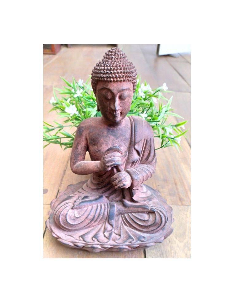Buda resina sobre loto Origen: Indonesia