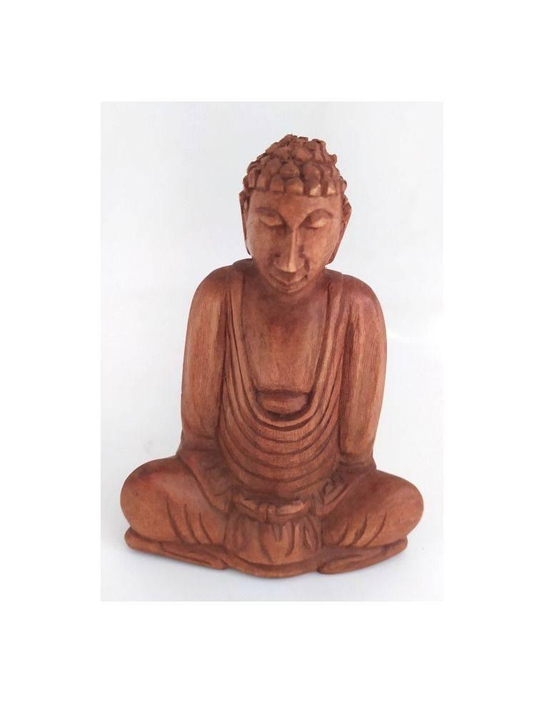 Buda Siddhartha Gautama en madera suar Origen: Indonesia
