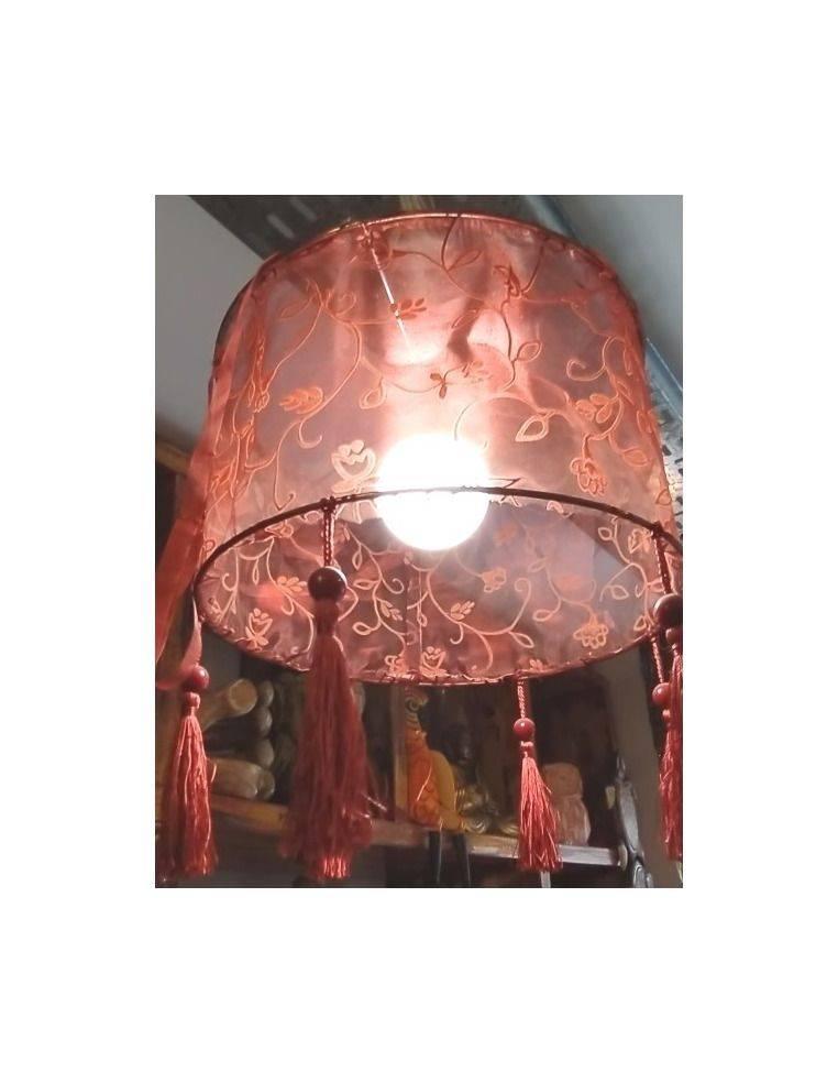 Lámpara de tela organza Origen: Indonesia