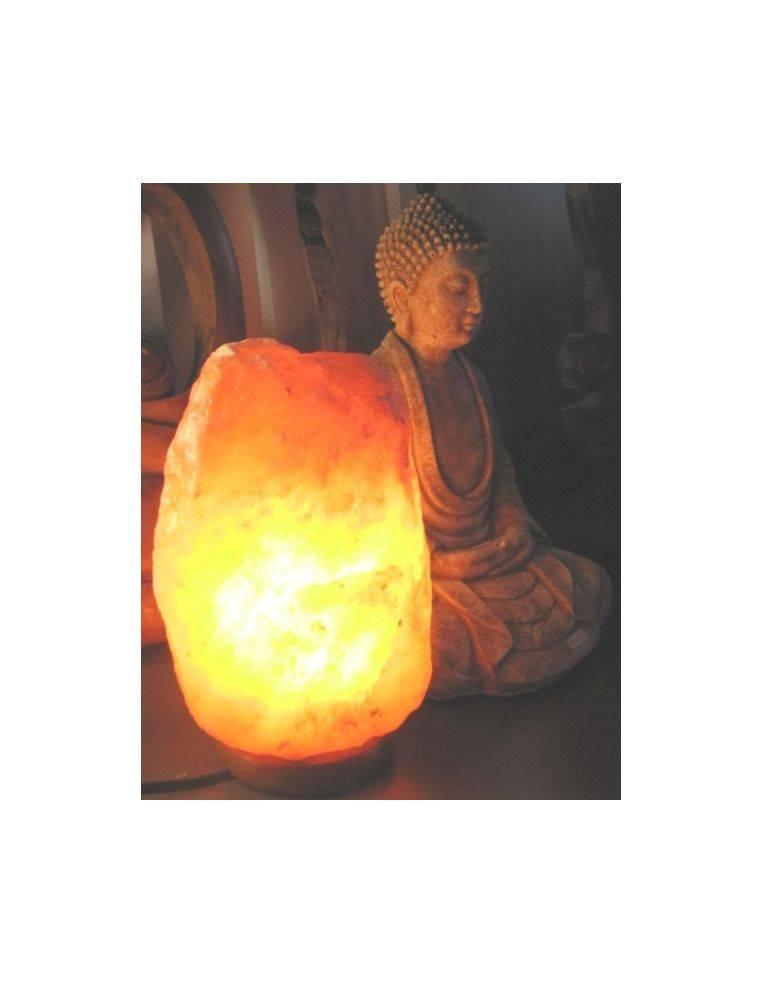 Lámpara de sal en Roca