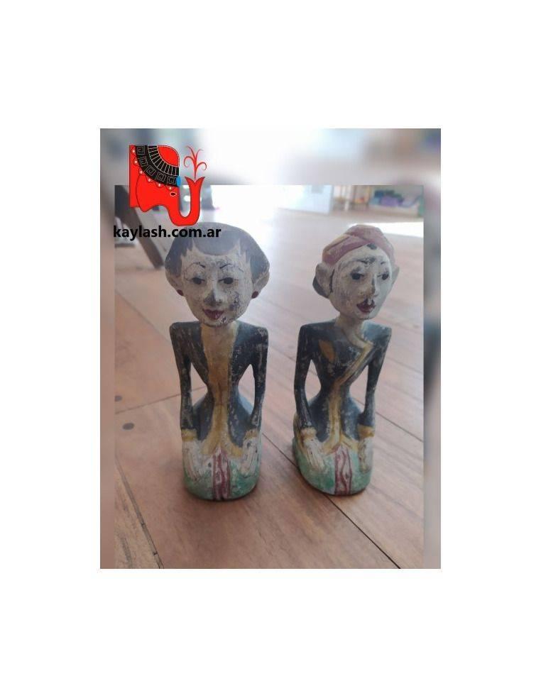 Indonesios de madera tallados y pintados a mano Origen: Indonesia